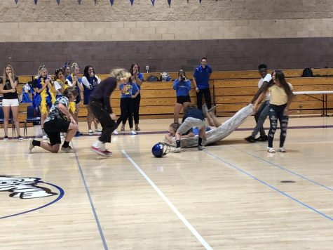 Cheer and Dance Team – Whitney Game